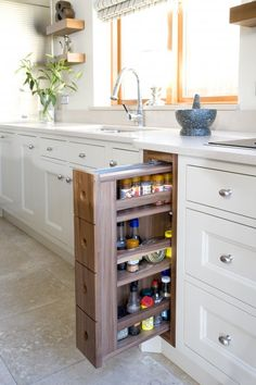 love roulette doors - perfect for hiding most used appliances