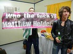 Matt Helders and Alex Turner Alex Turner, Arctic Monkeys, Monkey Memes, Matt Helders, Monkey 3, The Last Shadow Puppets, Fictional World, Favim, Cultura Pop