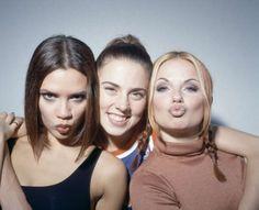 Geri Halliwell, Ginger Spice, Sporty Spice, Mel C, Victoria Beckham, Posh Spice.