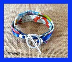 Bracelet liberty susanna double tour : Bracelet par crocmyys