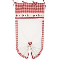 Tendina galline rosse ANGELICA Home & Country
