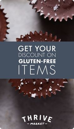 Gluten-intolerant? Never fear. Fill your pantry with gluten-free products from Thrive Market, all marked 25-50% off retail value.