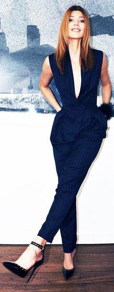 w/camisole - Giuseppe Zanotti Black Leather Studded Ankle Strap Stilettos