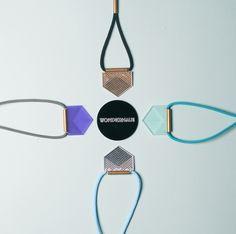 Image of Geo Spike Necklace - by Wonderhaus