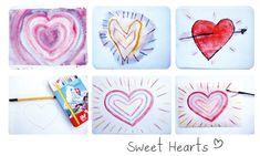 valentijn hartjes tekenen met kinderen diy #valentinesday #valentijnsdag  www.moodkids.nl/valentijn