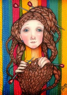 Pinzellades al món: tricotar