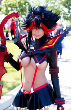 Ryuko Matoi Cosplay by TechnoRanma on @DeviantArt