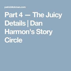 Part 4 — The Juicy Details | Dan Harmon's Story Circle