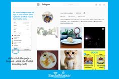This is How You Can Upload Instagram Photos From A Desktop Browser | SocialMusker
