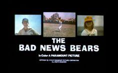 'The Bad News Bears' trailer title, 1976