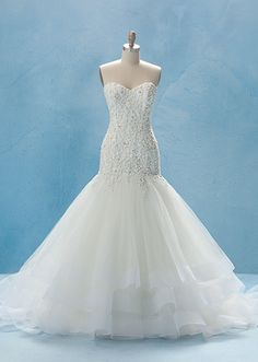 Cinderella Gown - Collection 2 | Alfred Angelo Bridal Collection | Disney's Fairy Tale Weddings & Honeymoons