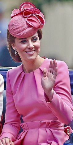 Cool Kate Middleton Dress monmon and the royals — Trooping The Colour 2017... Check more at http://24shop.cf/fashion/kate-middleton-dress-monmon-and-the-royals-trooping-the-colour-2017-2/