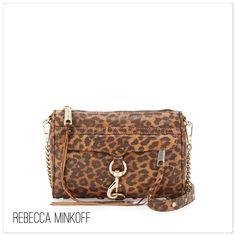🆕 Rebecca Minkoff print mini Mac Rebecca Minkoff animal print mini Mac. Purse has rose gold hardware - rare and hard to find! Includes dust bag. Measures approx 9x6.5x1.5. Brand new with tags. Rebecca Minkoff Bags
