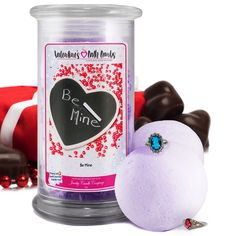 Be Mine - Valentine's Day Jewelry Bath Bombs - The Official Website of Jewelry Candles - Find Jewelry In Candles!