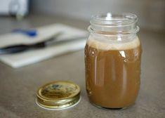 sea salt and vanilla caramel sauce