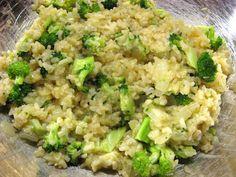 Broccoli Rice Gratin