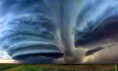 Super Cell Cloud Formation - Texas