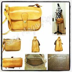 #Vintage #Coach #Handbags @Sacs Magnifiques!