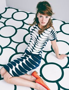 Sixties Tunic Dress WH796 Dresses at Boden