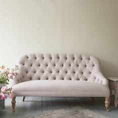 I LOVE this couch..... Rachel Ashwell Shabby Chic Couture Mabel Loveseat