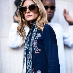 Haute Muse Olivia Palermo Undone chic, downtown cool, uptown polished #streetstyle #oliviapalermo
