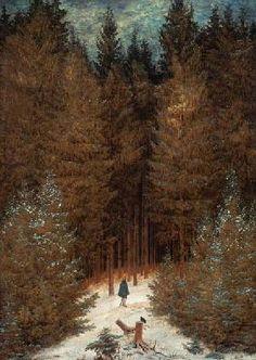 Caspar David Friedrich - Der Chasseur im Walde
