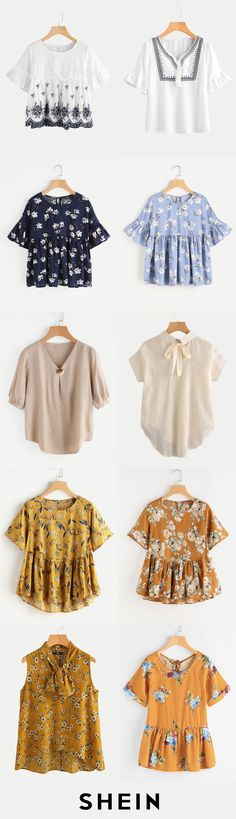 Cheap & chic blouses