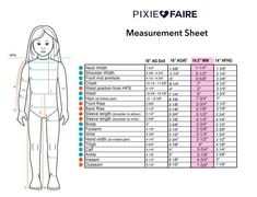 """Measurement sheet for 14.5 WW, 16 AGAT, 14"""" HFHG Ag Dolls, Girl Dolls, Sports Bra Top, Jane Clothing, Wellies Boots, Strawberry Blonde Hair, Thing 1, Dark Brown Eyes, Wellie Wishers"""