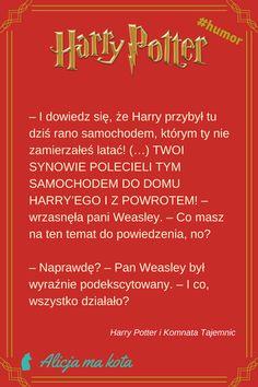 Harry Potter i Komnata Tajemnic - najlepsze fragmenty, najzabawniejsze cytaty | Latający samochód #HarryPotter #cytat #cytaty #książki Harry Potter Mems, Harry Potter Quotes, Harry Potter Fandom, Jily, Drarry, Wolfstar, Wtf Funny, Hogwarts, Thoughts