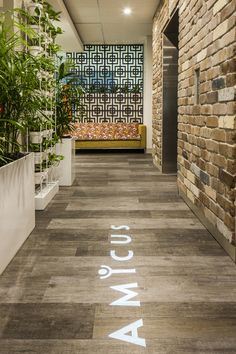 Design Love | Amicus - stunning office space in Sydney, Australia #office #decor #logo