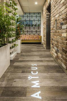 Design Love | Amicus - stunning office space in Sydney, Australia #office #decor #logo
