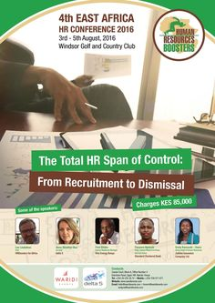 The team is at work putting together the 4th #EastAfrica #HRConference hosted by #HRboosters in partnership with Waridi Events and Delta 5.  The theme of this year's conference is from recruitment to dismissal. Learn more on the blog link below and book your space today! http://chk.to/YBTrU73