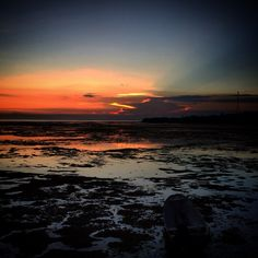 Nusa Ceningan Bali..... Beautiful sunset.......