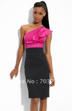 2012 El más reciente estilo de moda vestido de fiesta Venta al por mayor de vestidos de coctel de Ropa y accesorios en Aliexpress.com
