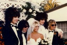 Tommy Lee's wedding Tommy Lee, 80s Hair Metal, Shout At The Devil, Mick Mars, Heather Locklear, Vince Neil, Heavy Rock, Heavy Metal, Glam Metal