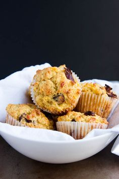 Orange Date Blender Muffins require most of the mixing in a blender - so simple and tasty!