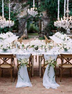 Romantic Maui Wedding -- gorgeous luxury wedding table decor - florals by Teresa Sena Design