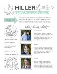 Shabby blogs free family newsletter template printable gallery image 2 maxwellsz