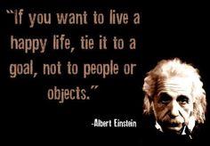 albert einstein goal quotes ...