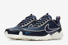 cheap for discount 7a0af f8334 Nike Air Zoom Spiridon SE in Obsidian