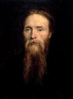 Edward Burne-Jones (1833-1898) Self-Portrait