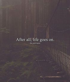 After all..