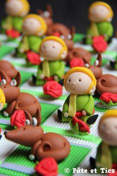 Boîtes à dragées Petit Prince et leurs renards