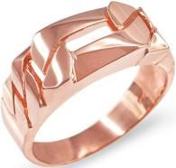 Figaro Link Chain Ring for Men in Rose Gold Mens Emerald Rings, Mens Gold Rings, Diamond Rings, Diamond Cuts, Rings For Men, Rose Gold Texture, Topaz Ring, Princess Cut Diamonds, Anniversary Rings