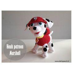 Zelfgemaakt van mij - voor jou: Marshall van Paw Patrol haken