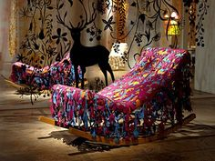 Happy Ever After, Installations, Studio Tord Boontje, Netherlands.