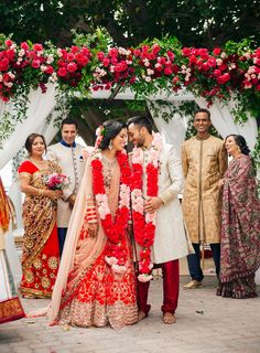 If you're still dreaming of Priyanka and Nick's wedding then you have to check out this stunning traditional Indian wedding in San Pedro! Weddings The Most Stunning Indian Wedding in San Pedro - Feathered Arrow Wedding Planning Wedding Ceremony Ideas, Indian Wedding Ceremony, Red Wedding, Wedding Photos, Wedding Colors, Indian Destination Wedding, Outdoor Indian Wedding, Indian Fusion Wedding, Indian Wedding Couple