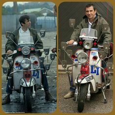 Scooters Concept News Electrico Design Referral: 2898010275 Mod Scooter, Lambretta Scooter, Scooter Girl, Vespa Scooters, Classic Vespa, Fishtail Parka, Mod Look, Mod Girl, Motor Scooters