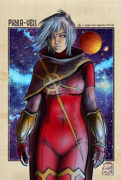 Phyla-Vell & blue moon, a colorization which I've begun when I was arrived on deviant. It seems too contrasted, but it needs to be seen largest. Quasar Marvel, Detective, Marvel Characters, Fictional Characters, Guardians Of The Galaxy, Blue Moon, Captain Marvel, Comic Art, Marvel Comics