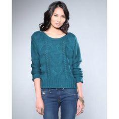 Bb Dakota Women David Cable Knit Sweater - Sweaters